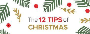 Christmas 12 tips