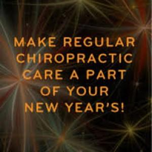 new years resolution chiropractic care
